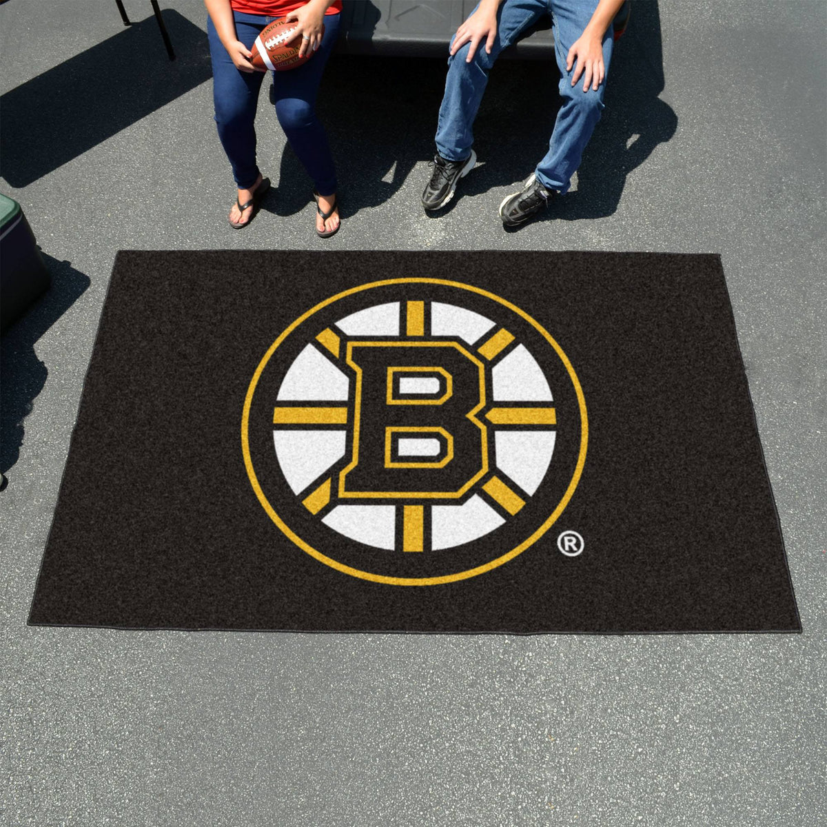 NHL - Ulti-Mat NHL Mats, Rectangular Mats, Ulti-Mat, NHL, Home Fan Mats Boston Bruins