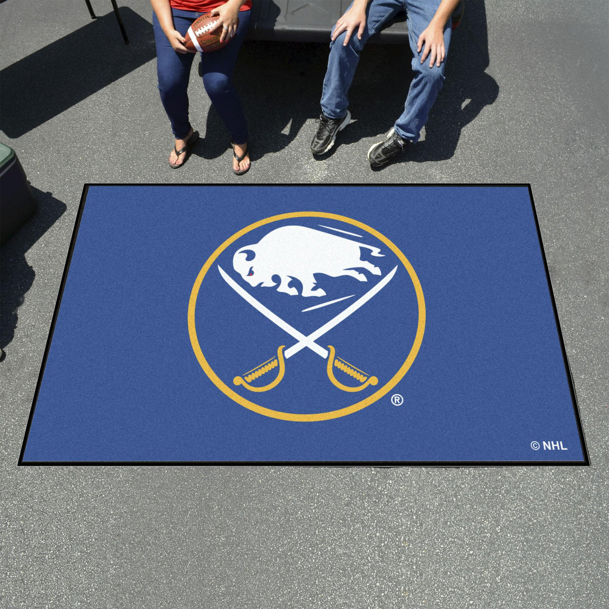 NHL - Ulti-Mat NHL Mats, Rectangular Mats, Ulti-Mat, NHL, Home Fan Mats Buffalo Sabres