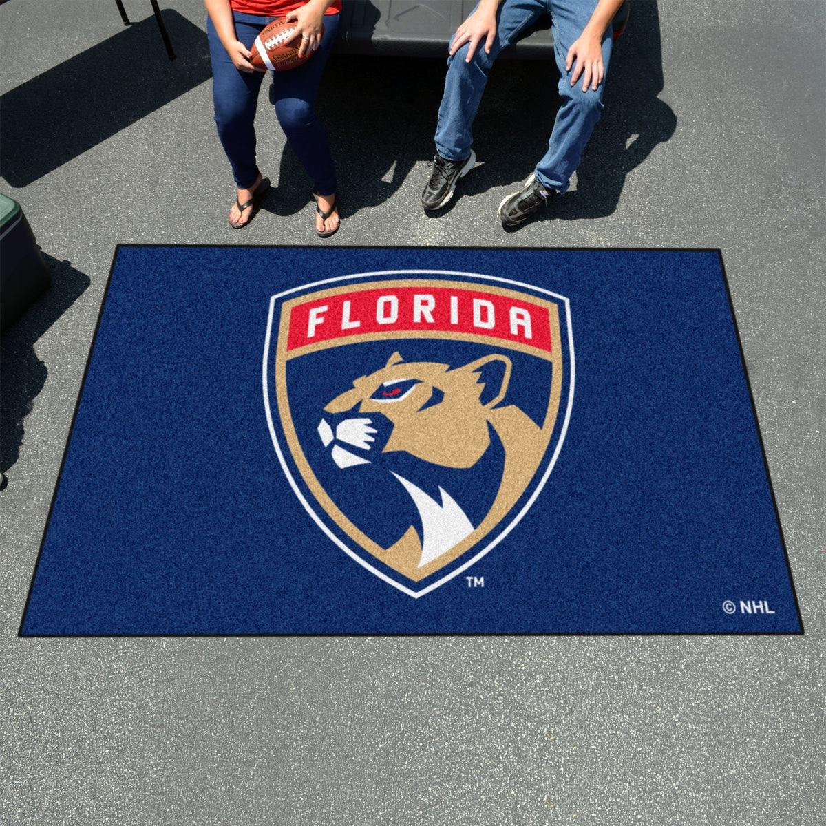 NHL - Ulti-Mat NHL Mats, Rectangular Mats, Ulti-Mat, NHL, Home Fan Mats Florida Panthers