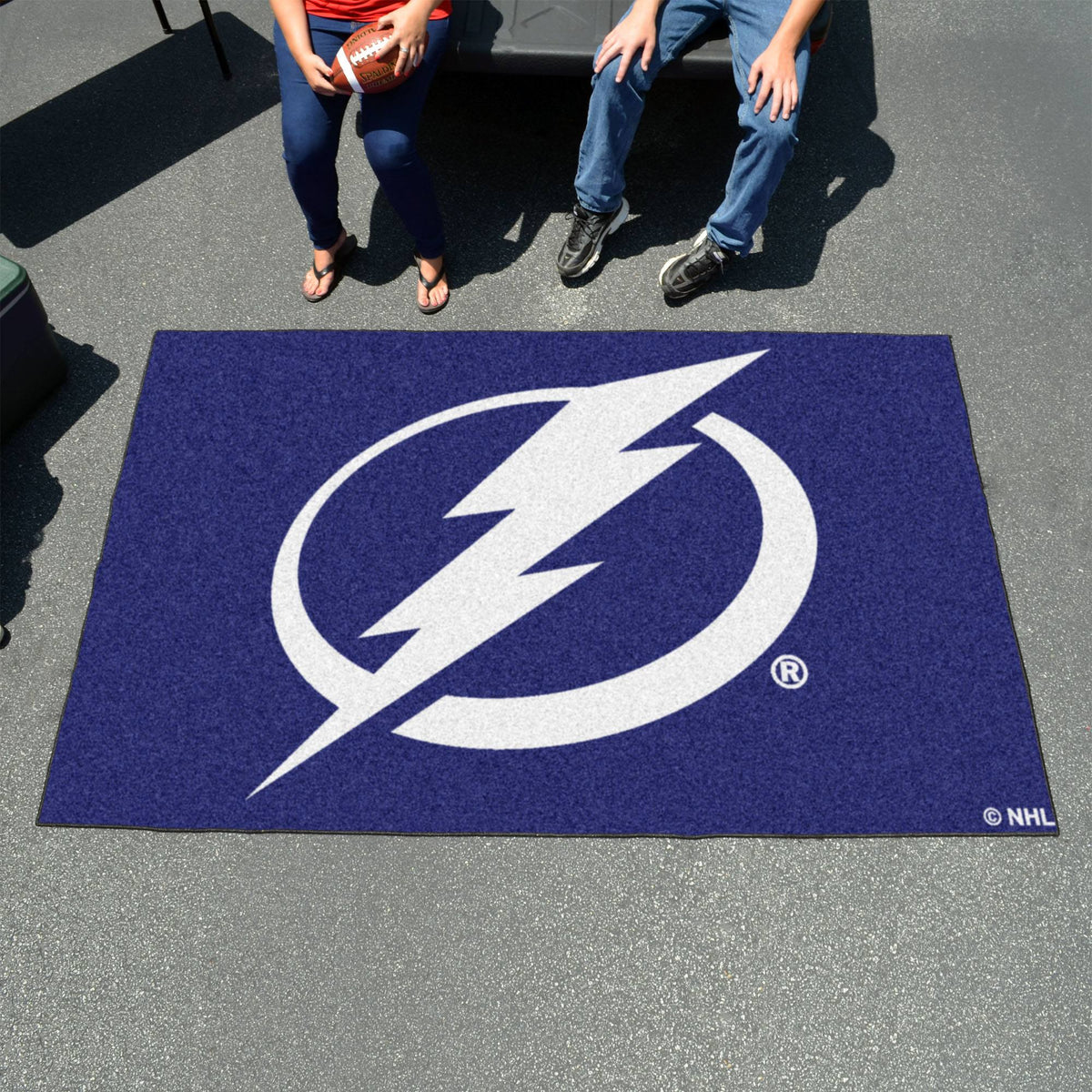 NHL - Ulti-Mat NHL Mats, Rectangular Mats, Ulti-Mat, NHL, Home Fan Mats Tampa Bay Lightning