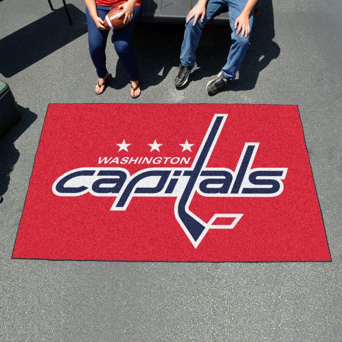NHL - Ulti-Mat NHL Mats, Rectangular Mats, Ulti-Mat, NHL, Home Fan Mats Washington Capitals