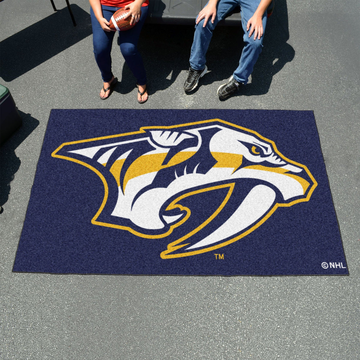 NHL - Ulti-Mat NHL Mats, Rectangular Mats, Ulti-Mat, NHL, Home Fan Mats Nashville Predators