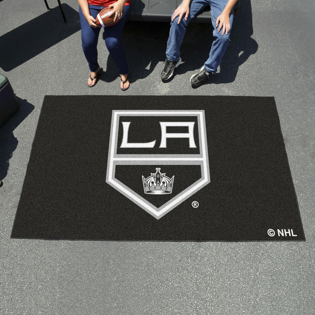 NHL - Ulti-Mat NHL Mats, Rectangular Mats, Ulti-Mat, NHL, Home Fan Mats Los Angeles Kings