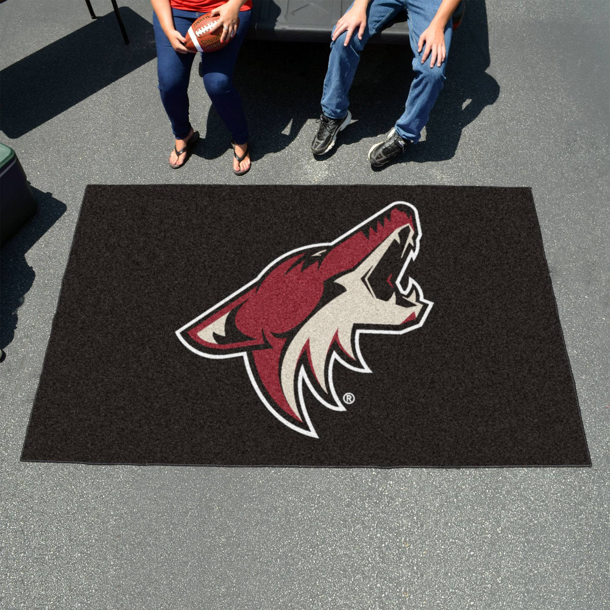 NHL - Ulti-Mat NHL Mats, Rectangular Mats, Ulti-Mat, NHL, Home Fan Mats Arizona Coyotes
