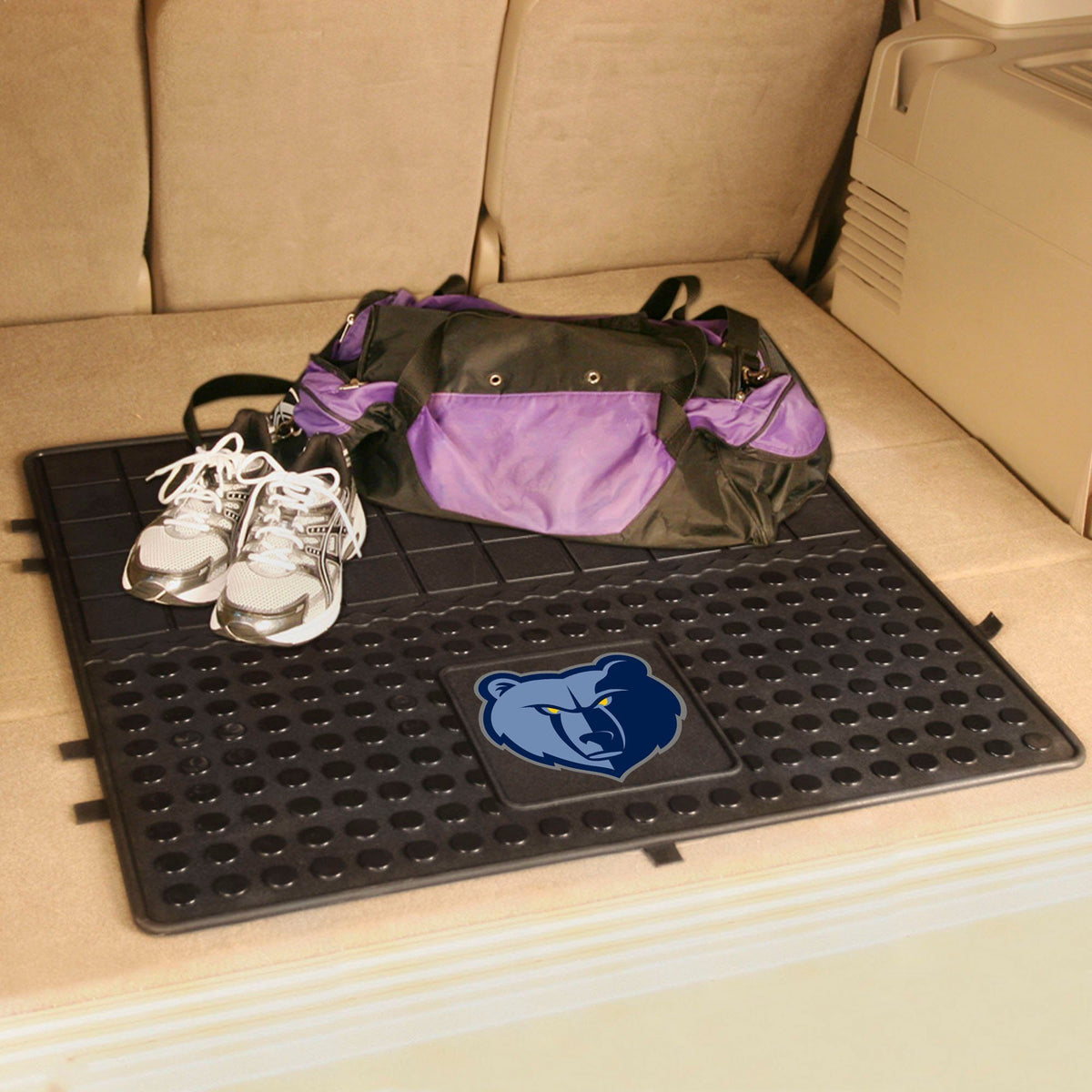 NBA - Heavy Duty Vinyl Cargo Mat NBA Mats, Trunk Mats, Heavy Duty Vinyl Cargo Mat, NBA, Auto Fan Mats Memphis Grizzlies