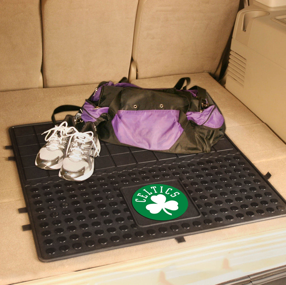 NBA - Heavy Duty Vinyl Cargo Mat NBA Mats, Trunk Mats, Heavy Duty Vinyl Cargo Mat, NBA, Auto Fan Mats Boston Celtics