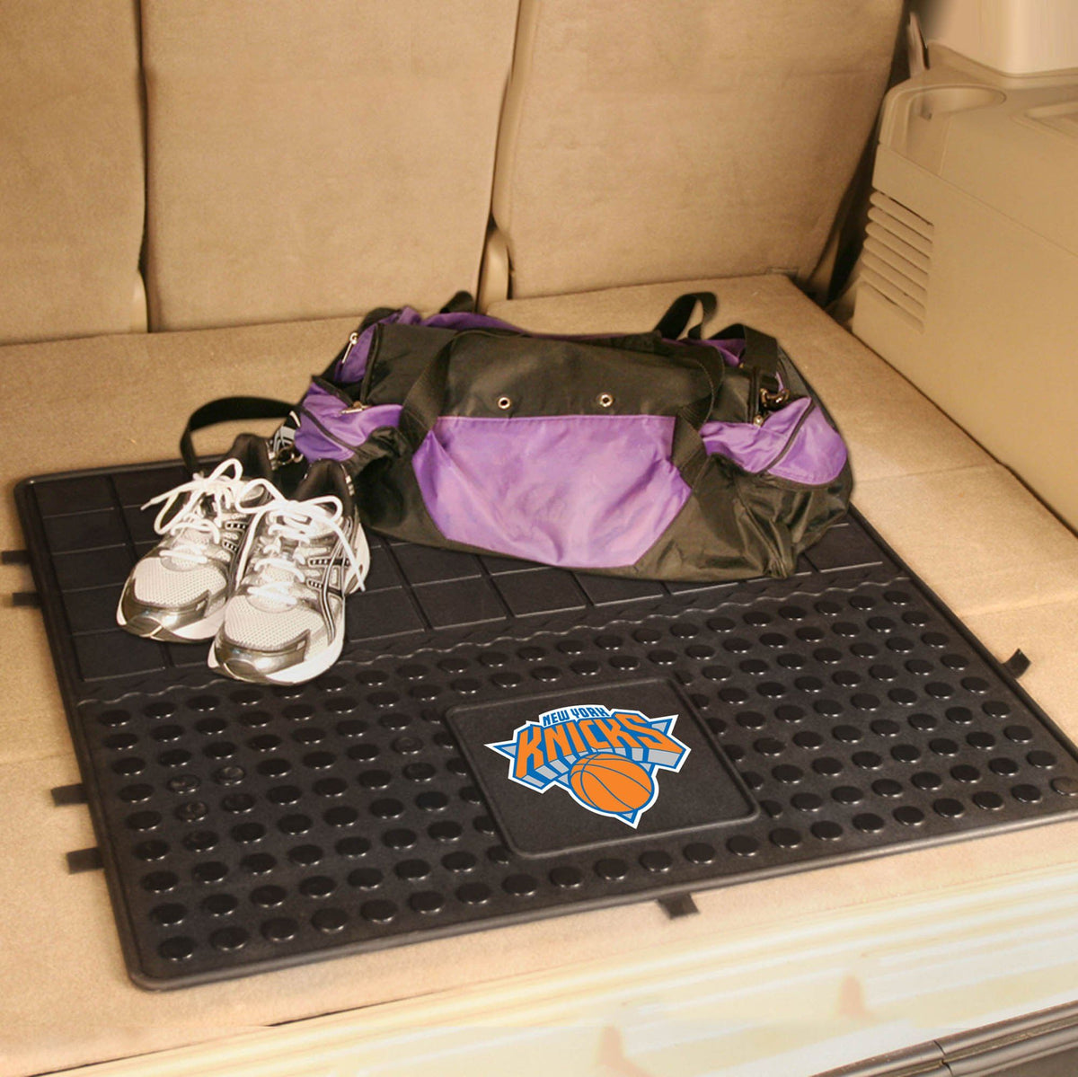 NBA - Heavy Duty Vinyl Cargo Mat NBA Mats, Trunk Mats, Heavy Duty Vinyl Cargo Mat, NBA, Auto Fan Mats New York Knicks