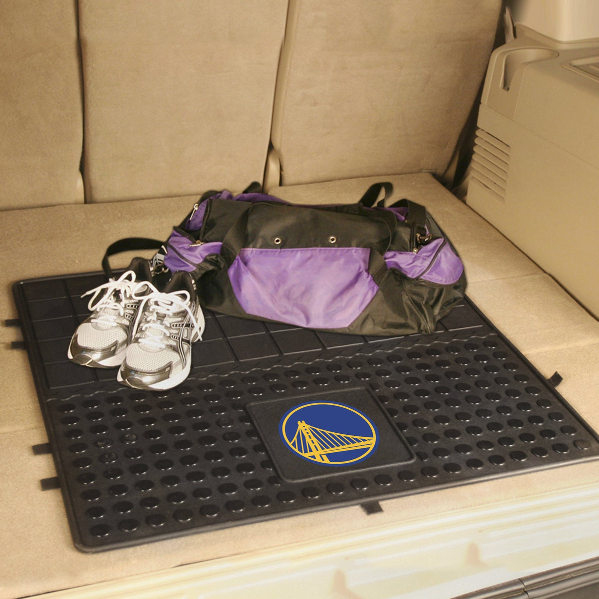 NBA - Heavy Duty Vinyl Cargo Mat NBA Mats, Trunk Mats, Heavy Duty Vinyl Cargo Mat, NBA, Auto Fan Mats Golden State Warriors