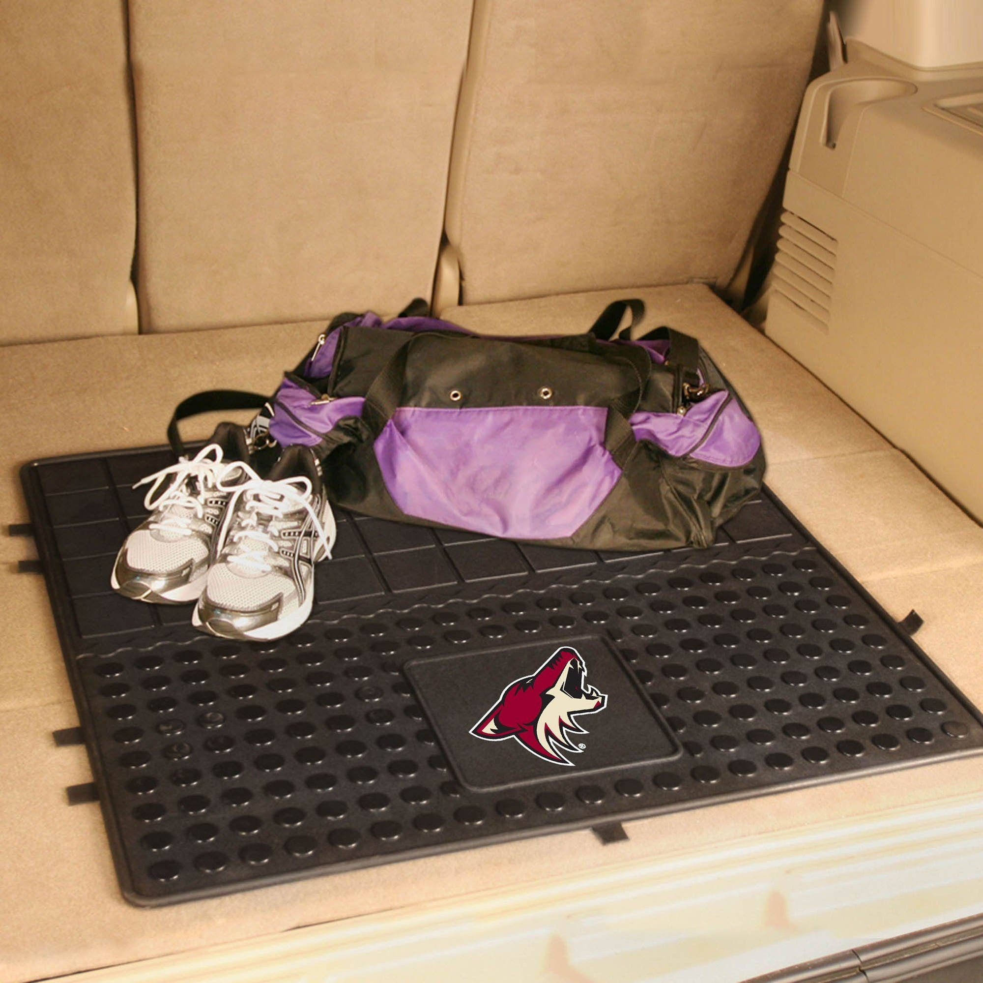 NHL - Heavy Duty Vinyl Cargo Mat NHL Mats, Trunk Mats, Heavy Duty Vinyl Cargo Mat, NHL, Auto Fan Mats Anaheim Ducks