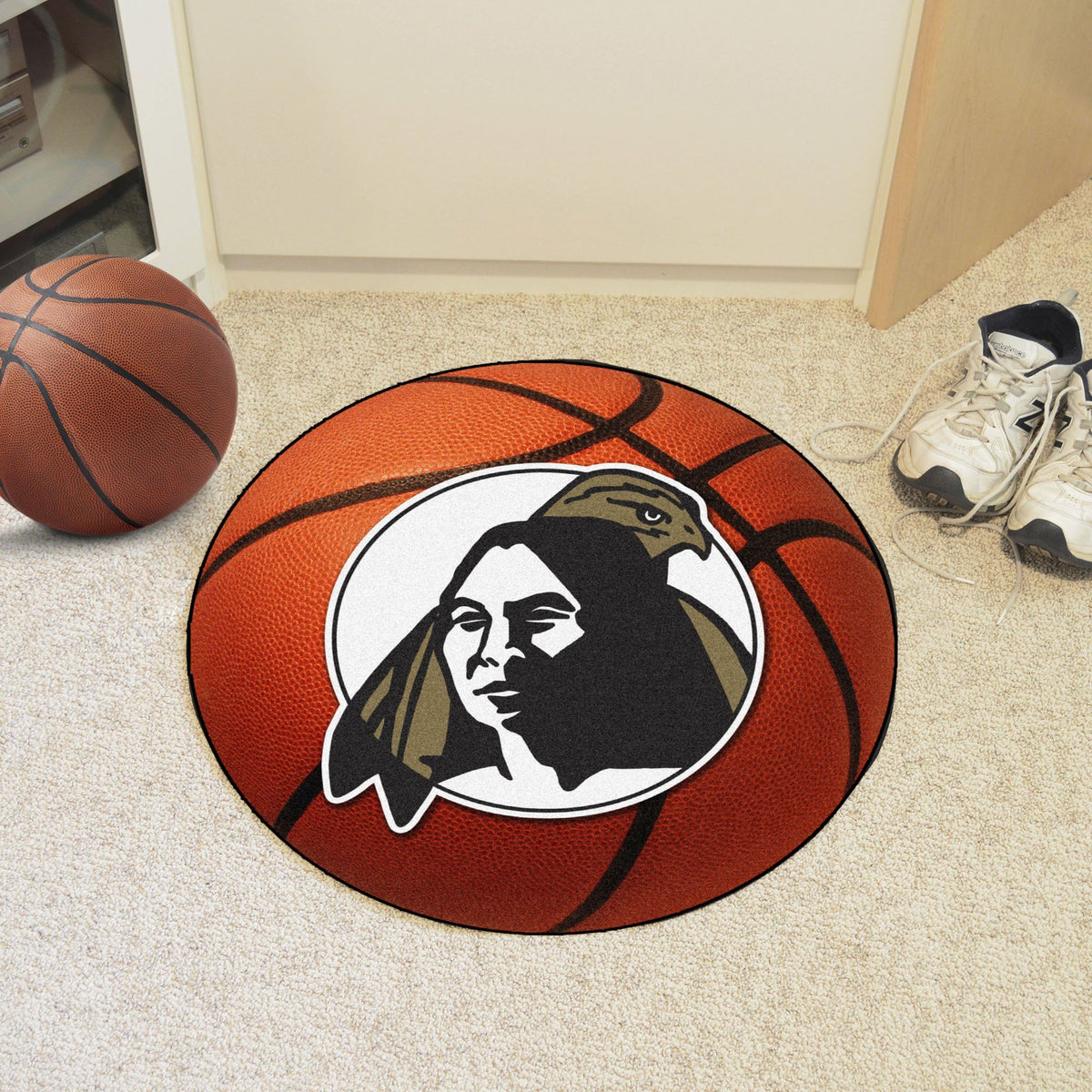 Collegiate - Basketball Mat: T - Z Collegiate Mats, Rectangular Mats, Basketball Mat, Collegiate, Home Fan Mats UNC Pembroke