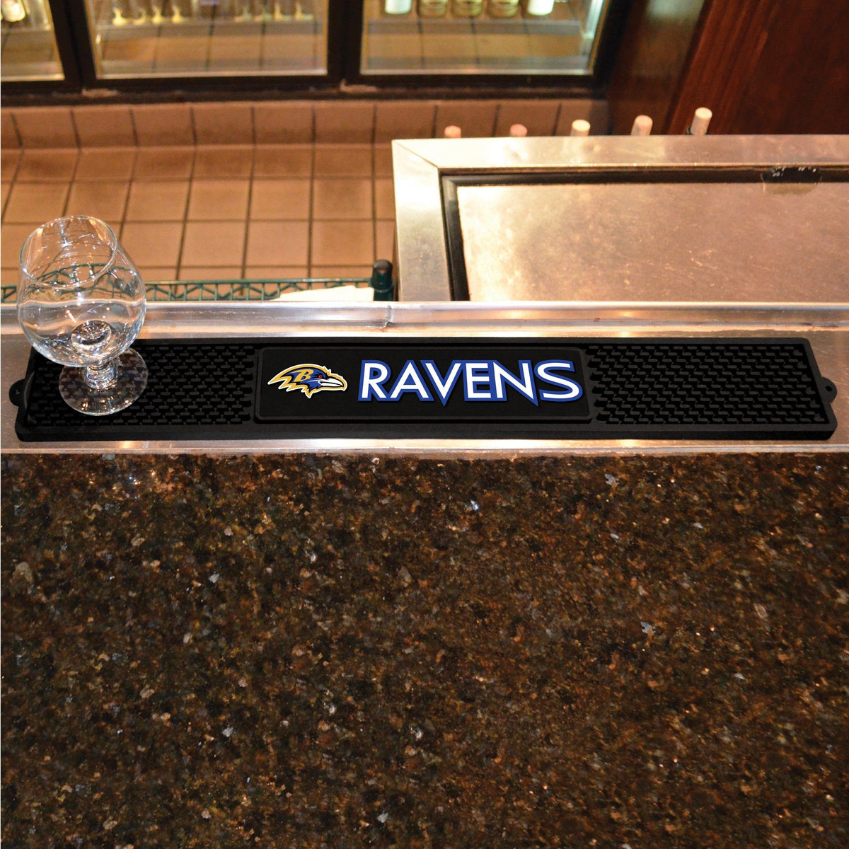 NFL - Drink Mat NFL Mats, Tailgate Accessory, Drink Mat, NFL, Leisure Fan Mats Baltimore Ravens