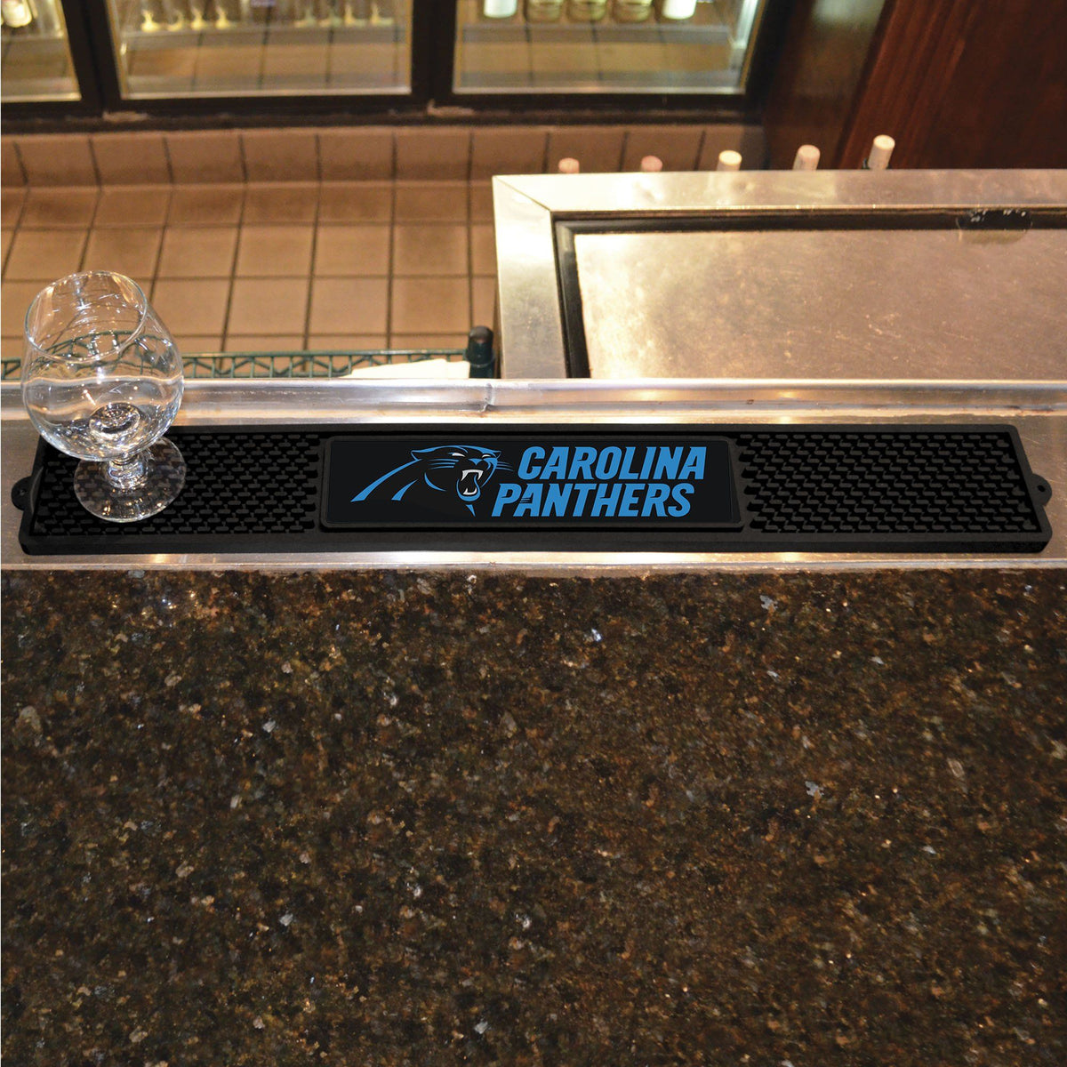 NFL - Drink Mat NFL Mats, Tailgate Accessory, Drink Mat, NFL, Leisure Fan Mats Carolina Panthers