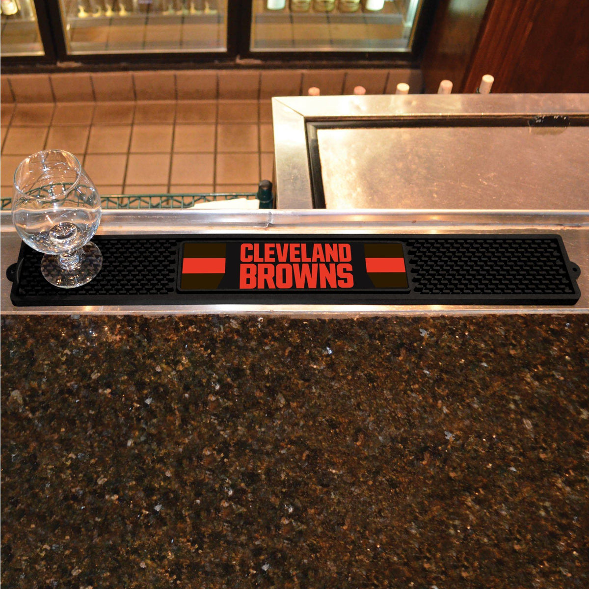 NFL - Drink Mat NFL Mats, Tailgate Accessory, Drink Mat, NFL, Leisure Fan Mats Cleveland Browns