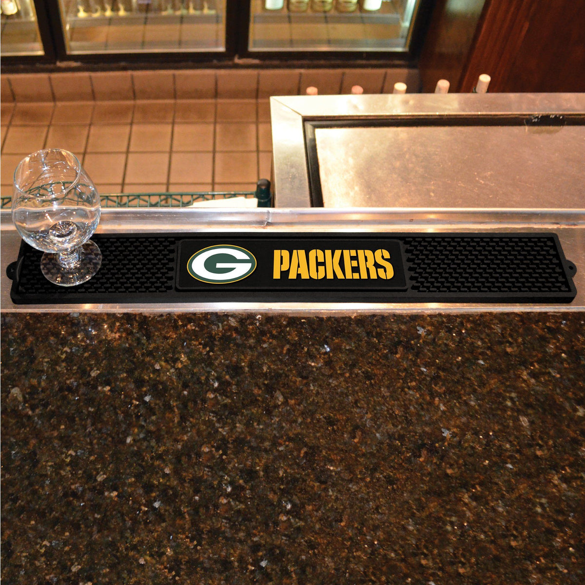 NFL - Drink Mat NFL Mats, Tailgate Accessory, Drink Mat, NFL, Leisure Fan Mats Green Bay Packers