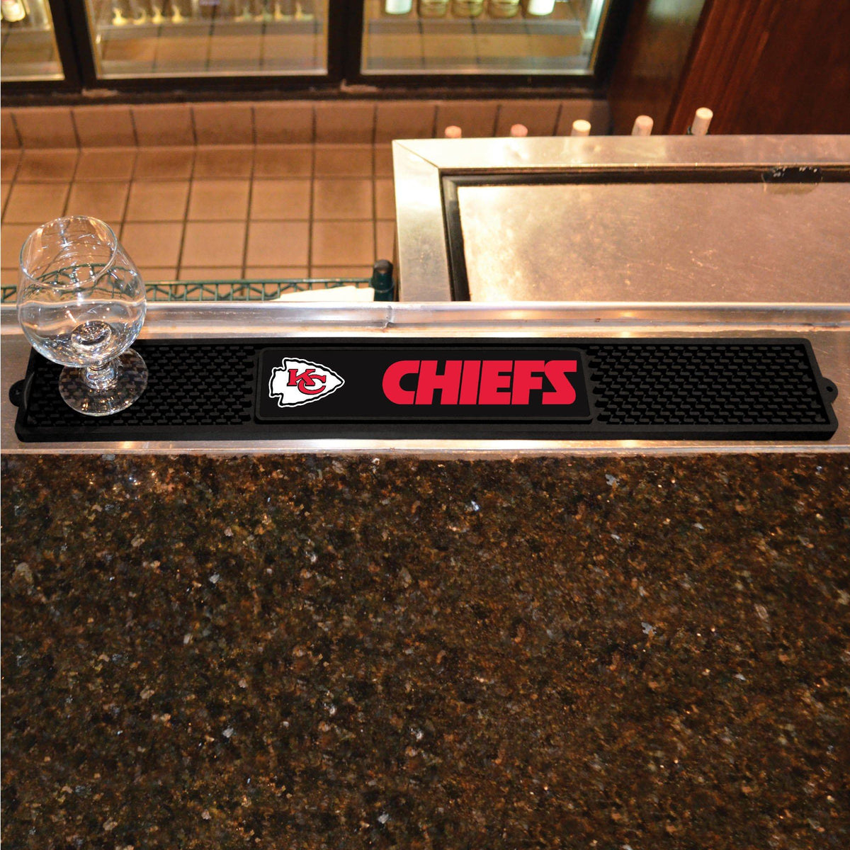 NFL - Drink Mat NFL Mats, Tailgate Accessory, Drink Mat, NFL, Leisure Fan Mats Kansas City Chiefs
