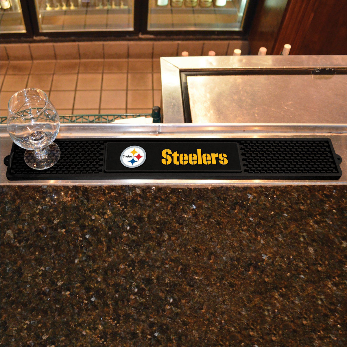 NFL - Drink Mat NFL Mats, Tailgate Accessory, Drink Mat, NFL, Leisure Fan Mats Pittsburgh Steelers