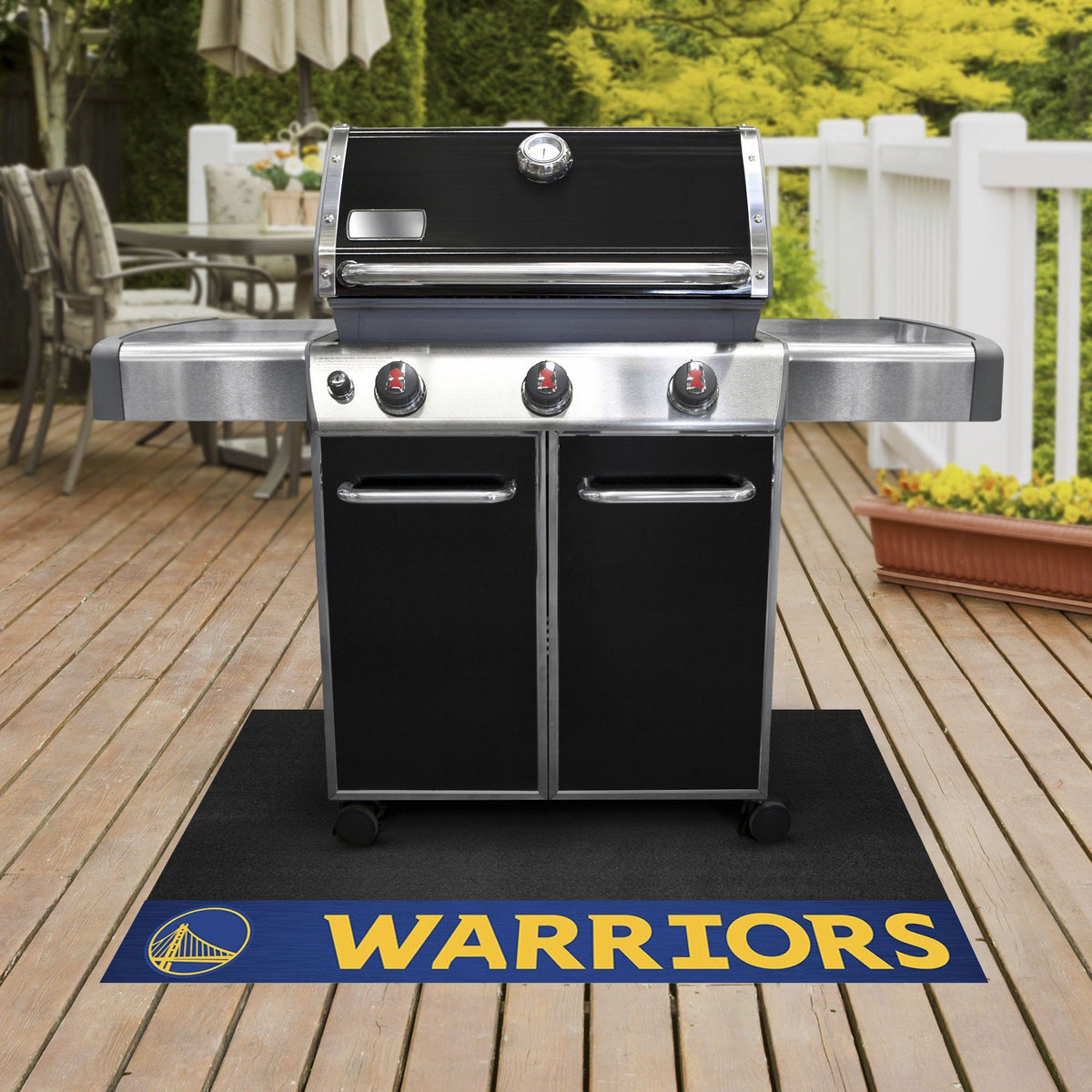 NBA - Grill Mat NBA Mats, Grill Mat, NBA, Home Fan Mats Golden State Warriors
