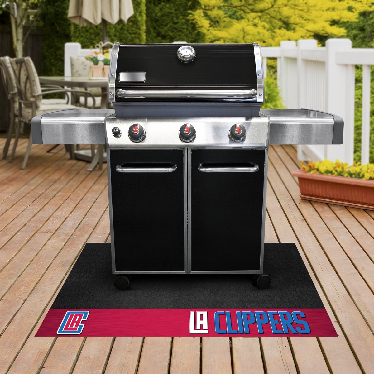 NBA - Grill Mat NBA Mats, Grill Mat, NBA, Home Fan Mats Los Angeles Clippers