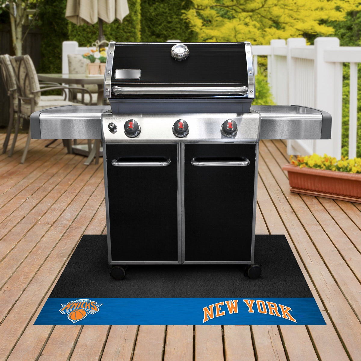 NBA - Grill Mat NBA Mats, Grill Mat, NBA, Home Fan Mats New York Knicks
