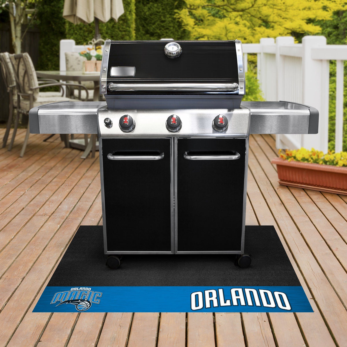 NBA - Grill Mat NBA Mats, Grill Mat, NBA, Home Fan Mats Orlando Magic
