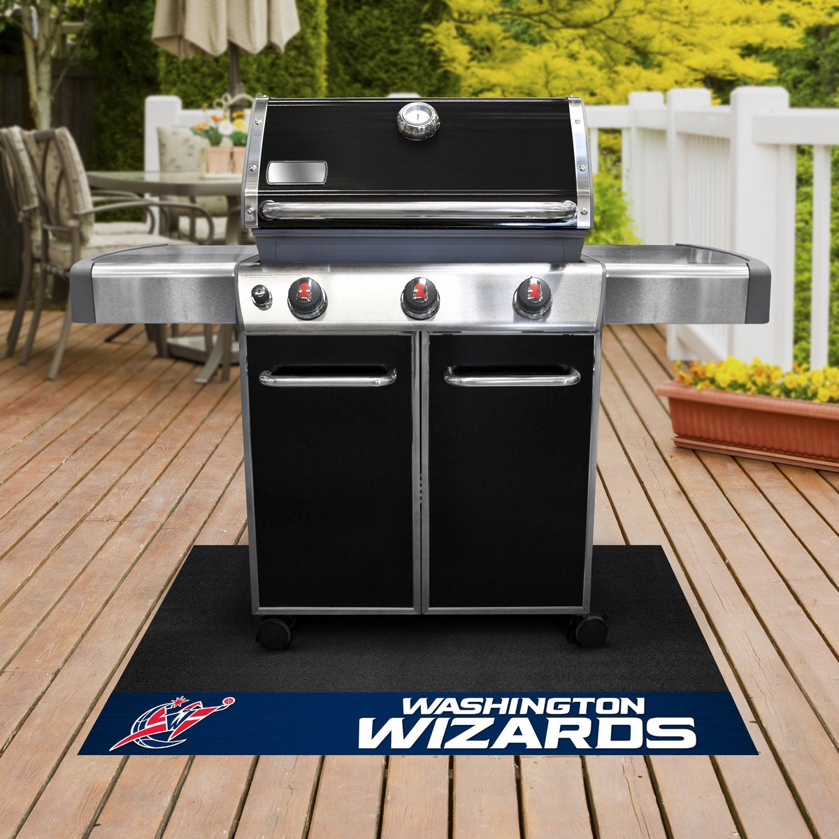 NBA - Grill Mat NBA Mats, Grill Mat, NBA, Home Fan Mats Washington Wizards