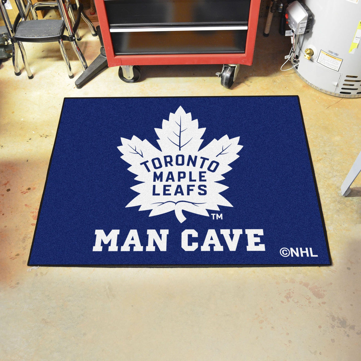NHL - Man Cave All-Star NHL Mats, Rectangular Mats, Man Cave All-Star Mat, NHL, Home Fan Mats Toronto Maple Leafs
