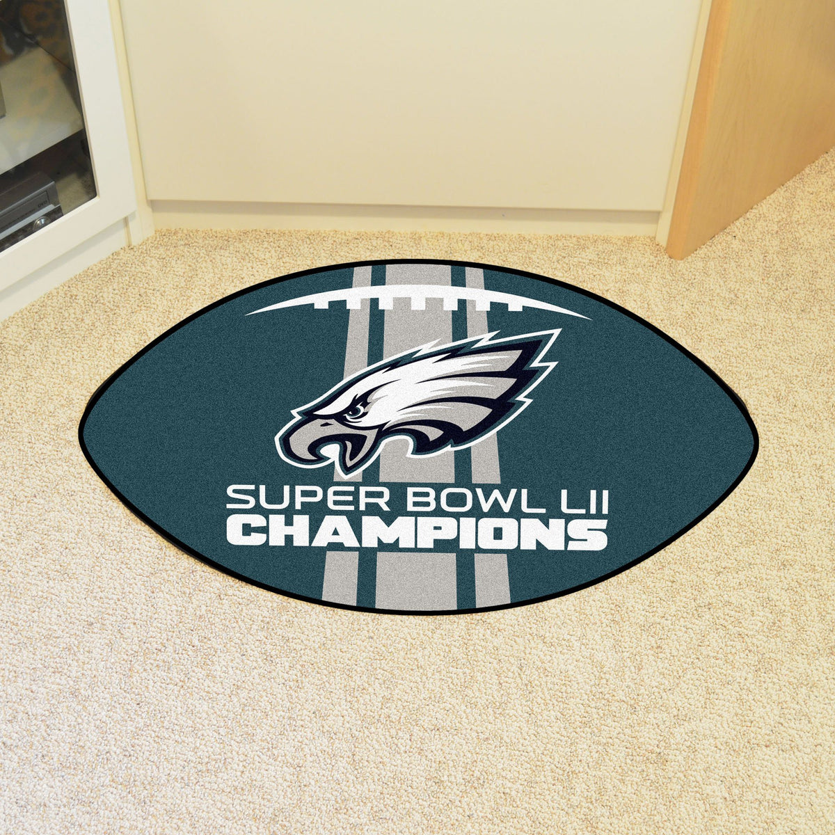 NFL - Football Mat NFL Mats, Custom Shape Rugs, Football Mat, NFL, Home Fan Mats Philadelphia Eagles 2