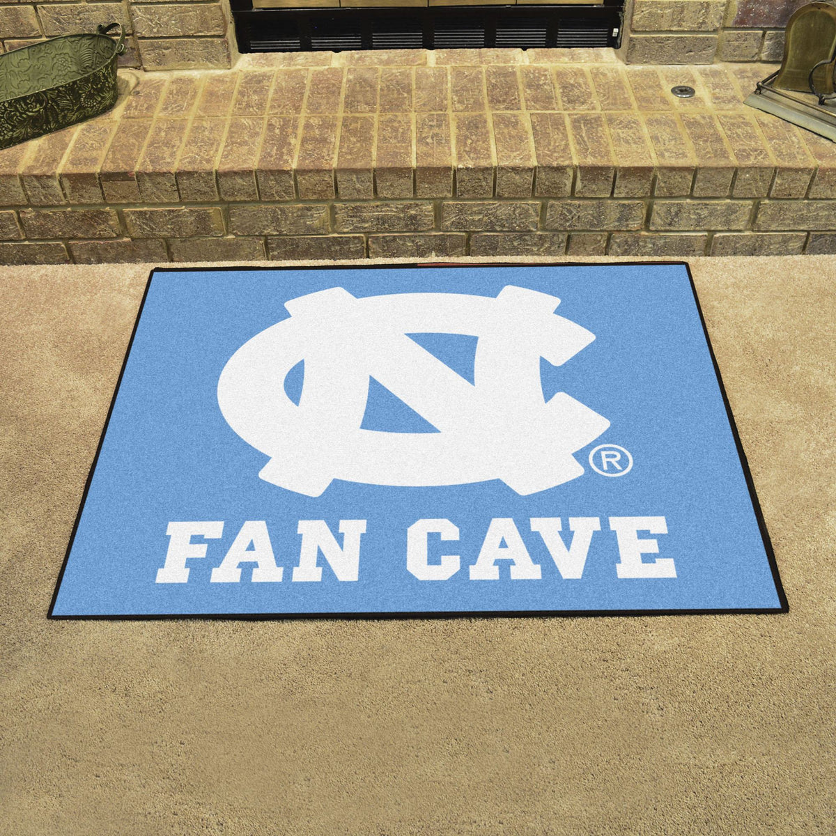 Collegiate - Fan Cave All-Star Mat Collegiate Mats, Rectangular Mats, All-Star Mat, Collegiate, Home Fan Mats Team