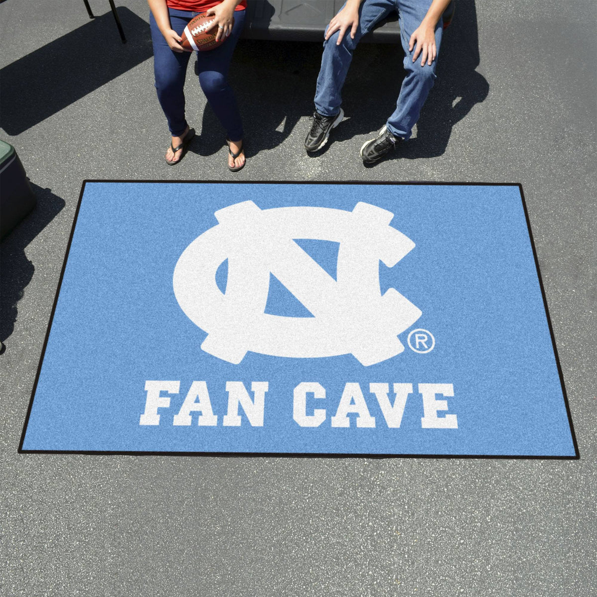 Collegiate - Football Field Runner Collegiate Mats, Rectangular Mats, Football Field Runner, Collegiate, Home Fan Mats North Carolina