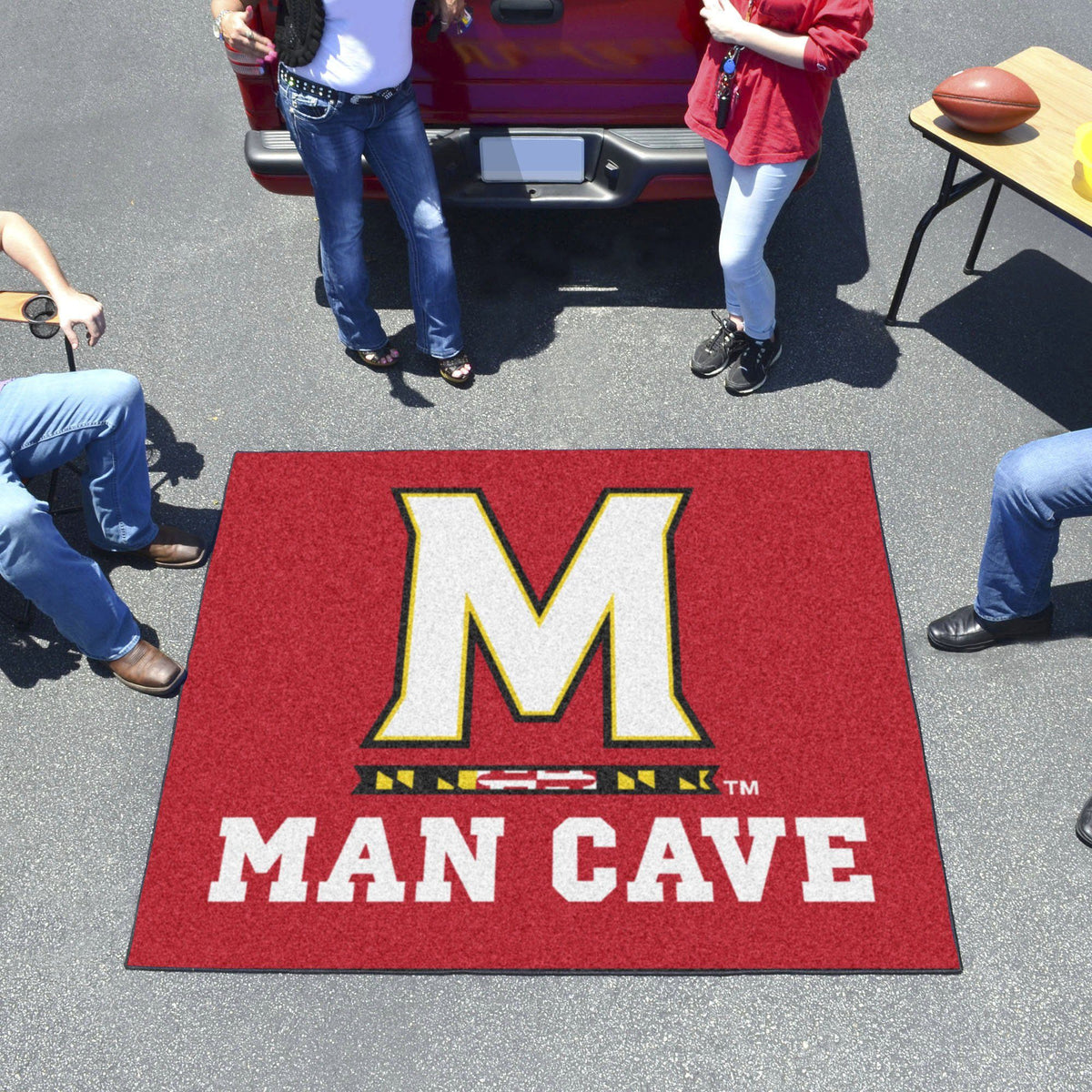 Collegiate - Man Cave Tailgater Collegiate Mats, Rectangular Mats, Man Cave Tailgater, Collegiate, Home Fan Mats Maryland