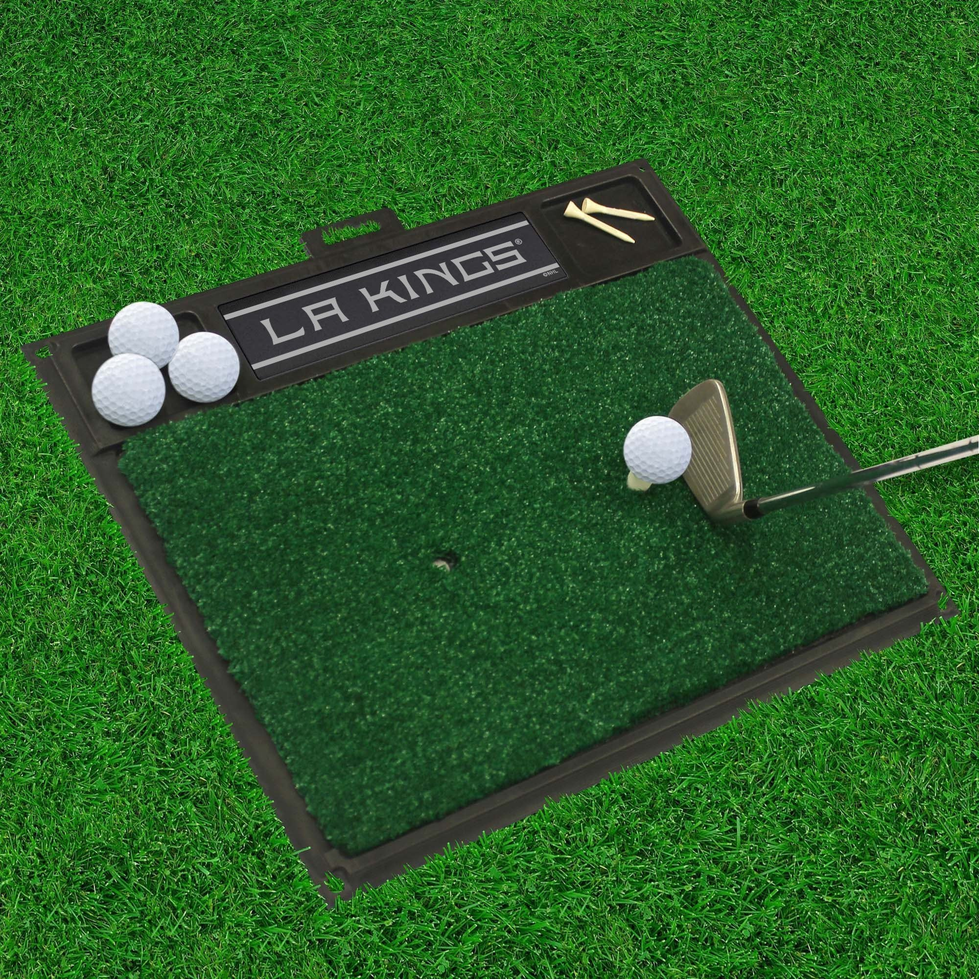 NHL - Golf Hitting Mat NHL Mats, Golf Accessory, Golf Hitting Mat, NHL, Home Fan Mats Los Angeles Kings