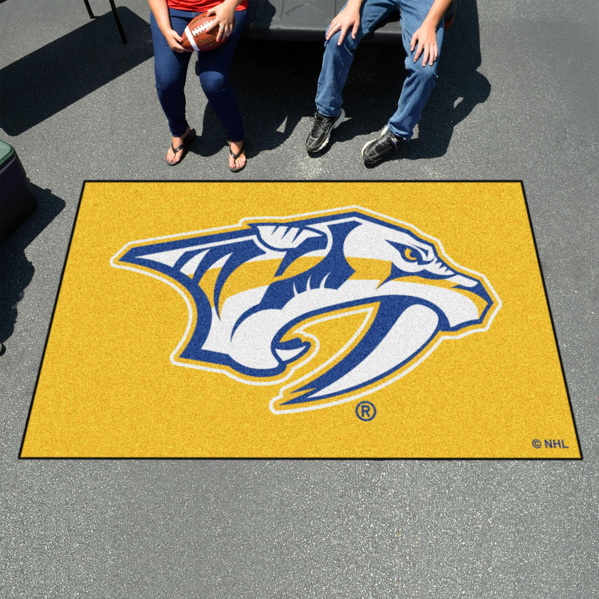NHL - Ulti-Mat NHL Mats, Rectangular Mats, Ulti-Mat, NHL, Home Fan Mats Nashville Predators 2