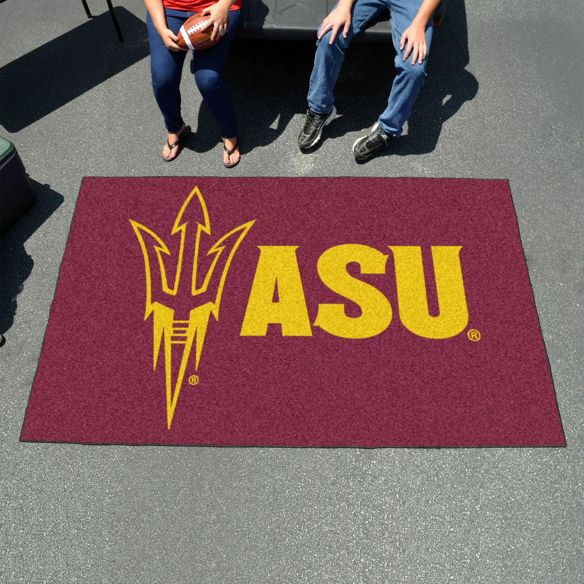 Collegiate - Ulti-Mat: A - L Collegiate Mats, Rectangular Mats, Ulti-Mat, Collegiate, Home Fan Mats Arizona State 2