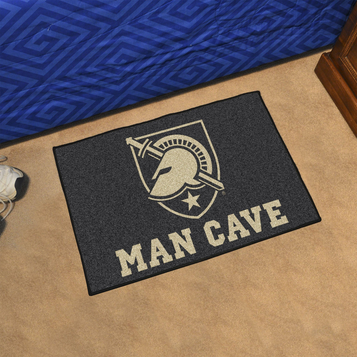 Collegiate - Man Cave Starter Collegiate Mats, Rectangular Mats, Man Cave Starter, Collegiate, Home Fan Mats Army West Point