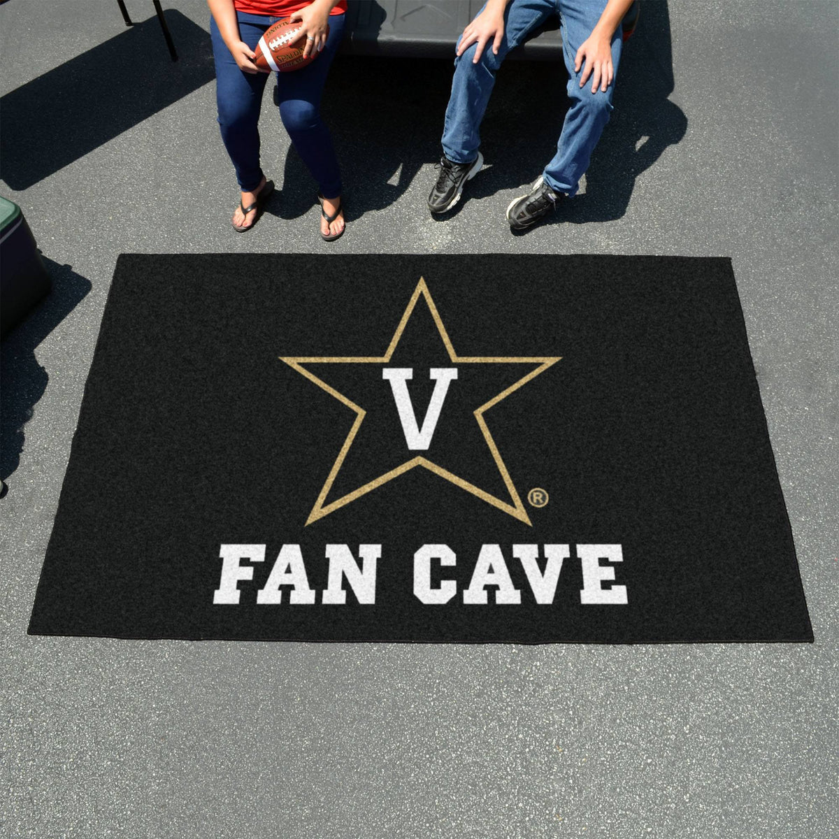 Collegiate - Football Field Runner Collegiate Mats, Rectangular Mats, Football Field Runner, Collegiate, Home Fan Mats Vanderbilt