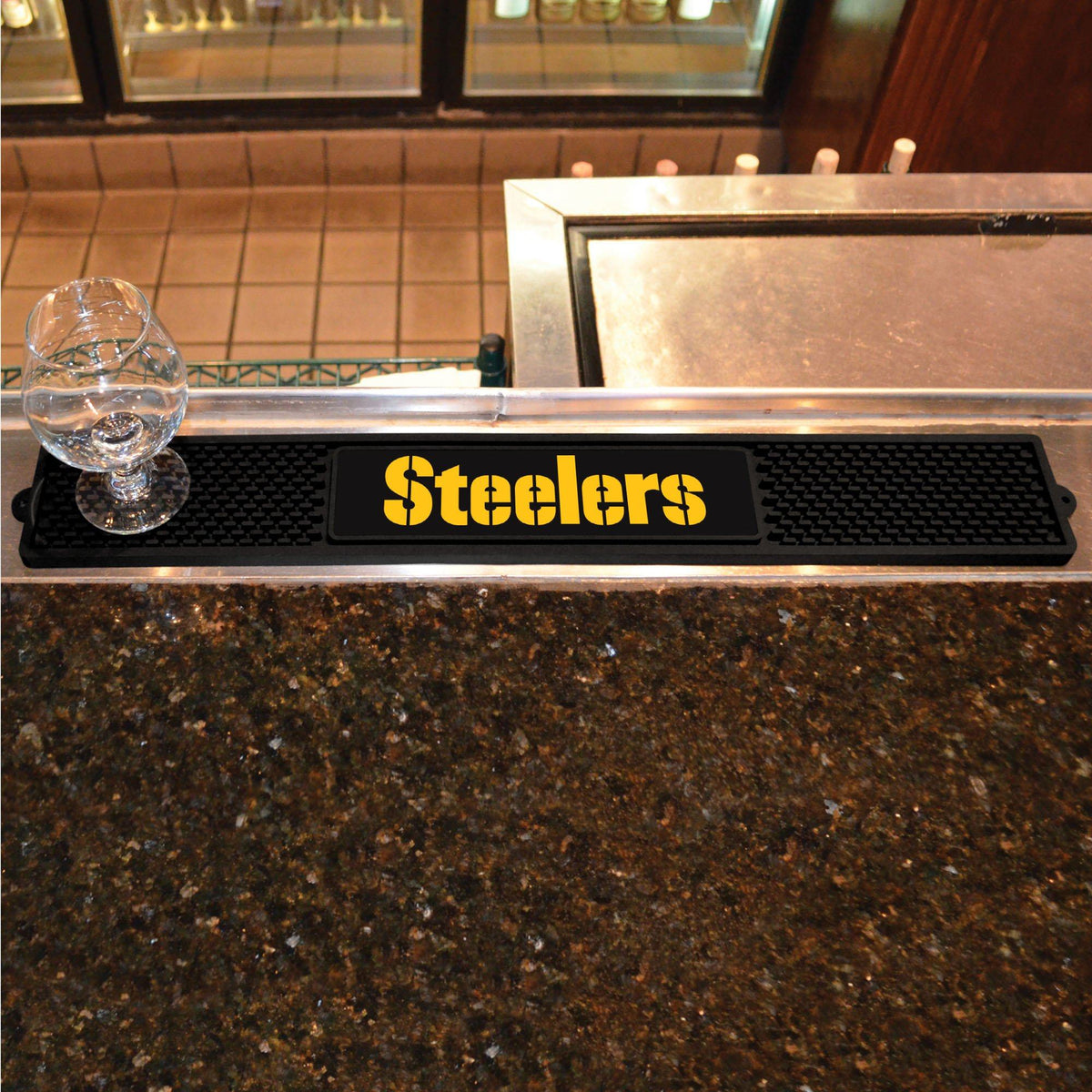 NFL - Drink Mat NFL Mats, Tailgate Accessory, Drink Mat, NFL, Leisure Fan Mats Pittsburgh Steelers 2