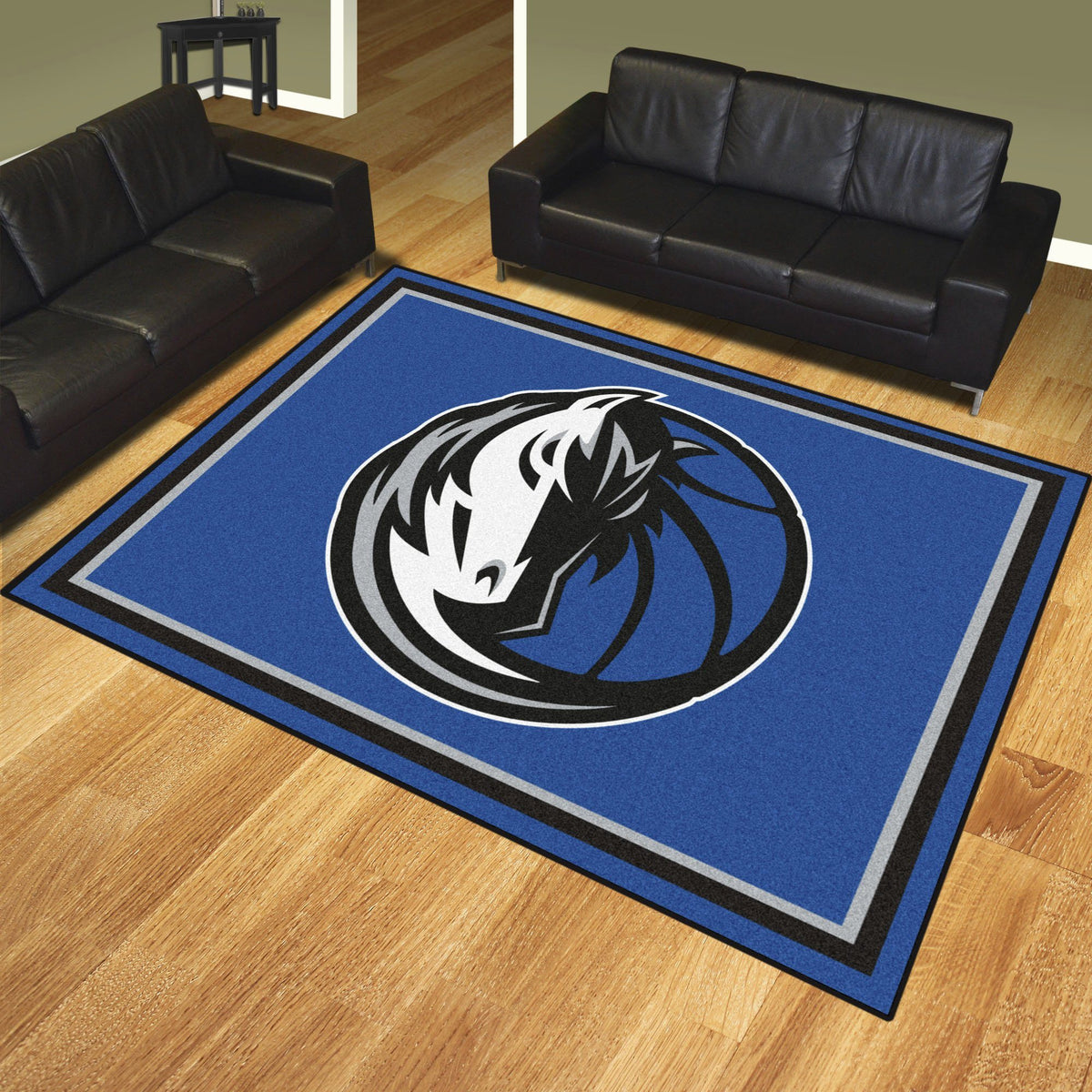 NBA - 8' x 10' Rug NBA Mats, Plush Rugs, 8x10 Rug, NBA, Home Fan Mats Dallas Mavericks