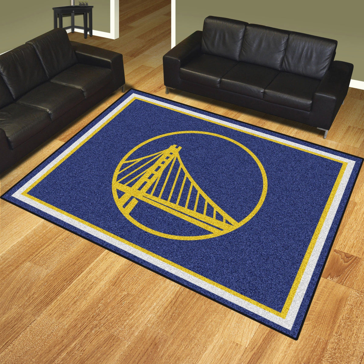 NBA - 8' x 10' Rug NBA Mats, Plush Rugs, 8x10 Rug, NBA, Home Fan Mats Golden State Warriors