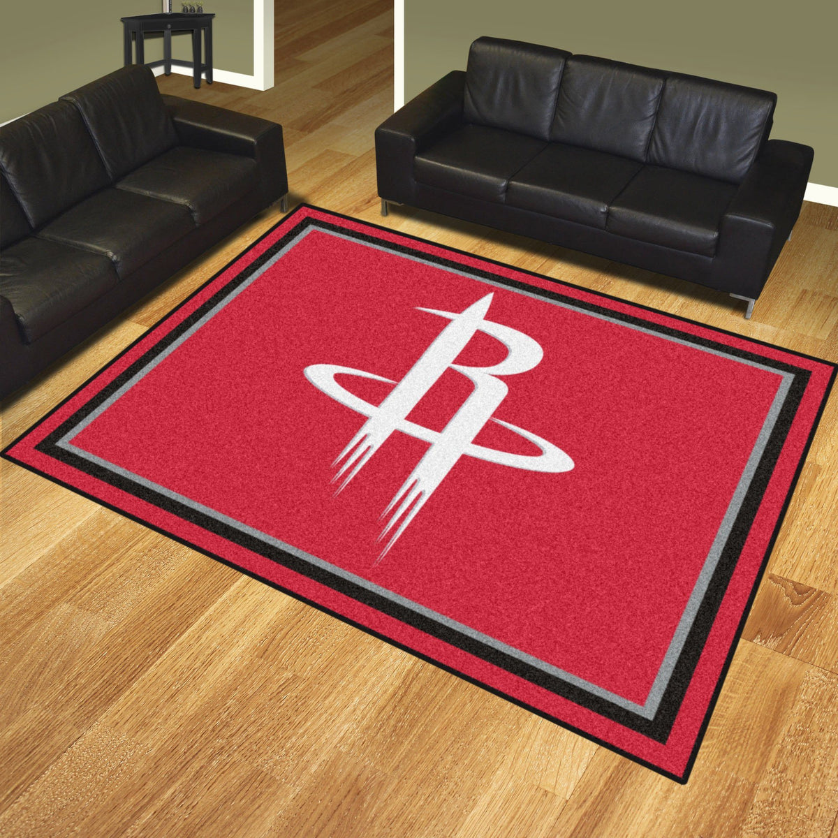 NBA - 8' x 10' Rug NBA Mats, Plush Rugs, 8x10 Rug, NBA, Home Fan Mats Houston Rockets