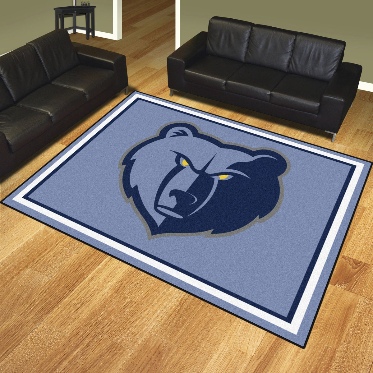 NBA - 8' x 10' Rug NBA Mats, Plush Rugs, 8x10 Rug, NBA, Home Fan Mats Memphis Grizzlies
