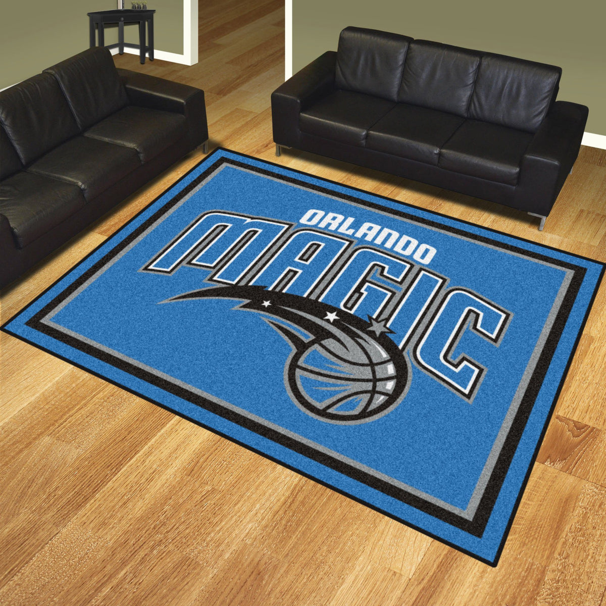 NBA - 8' x 10' Rug NBA Mats, Plush Rugs, 8x10 Rug, NBA, Home Fan Mats Orlando Magic