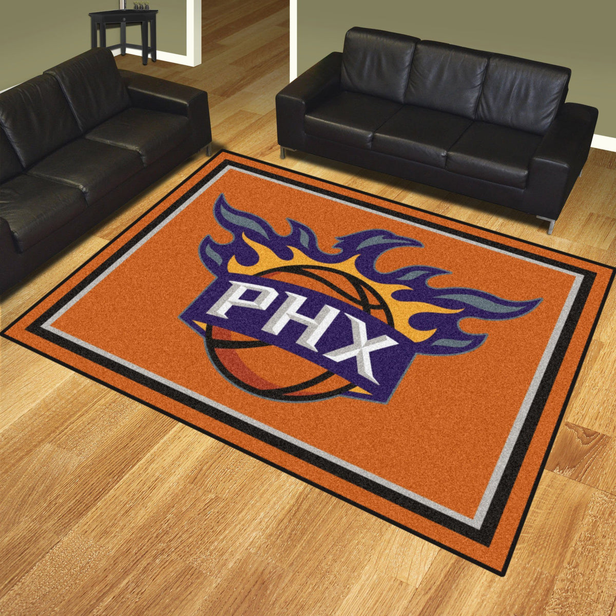 NBA - 8' x 10' Rug NBA Mats, Plush Rugs, 8x10 Rug, NBA, Home Fan Mats Phoenix Suns