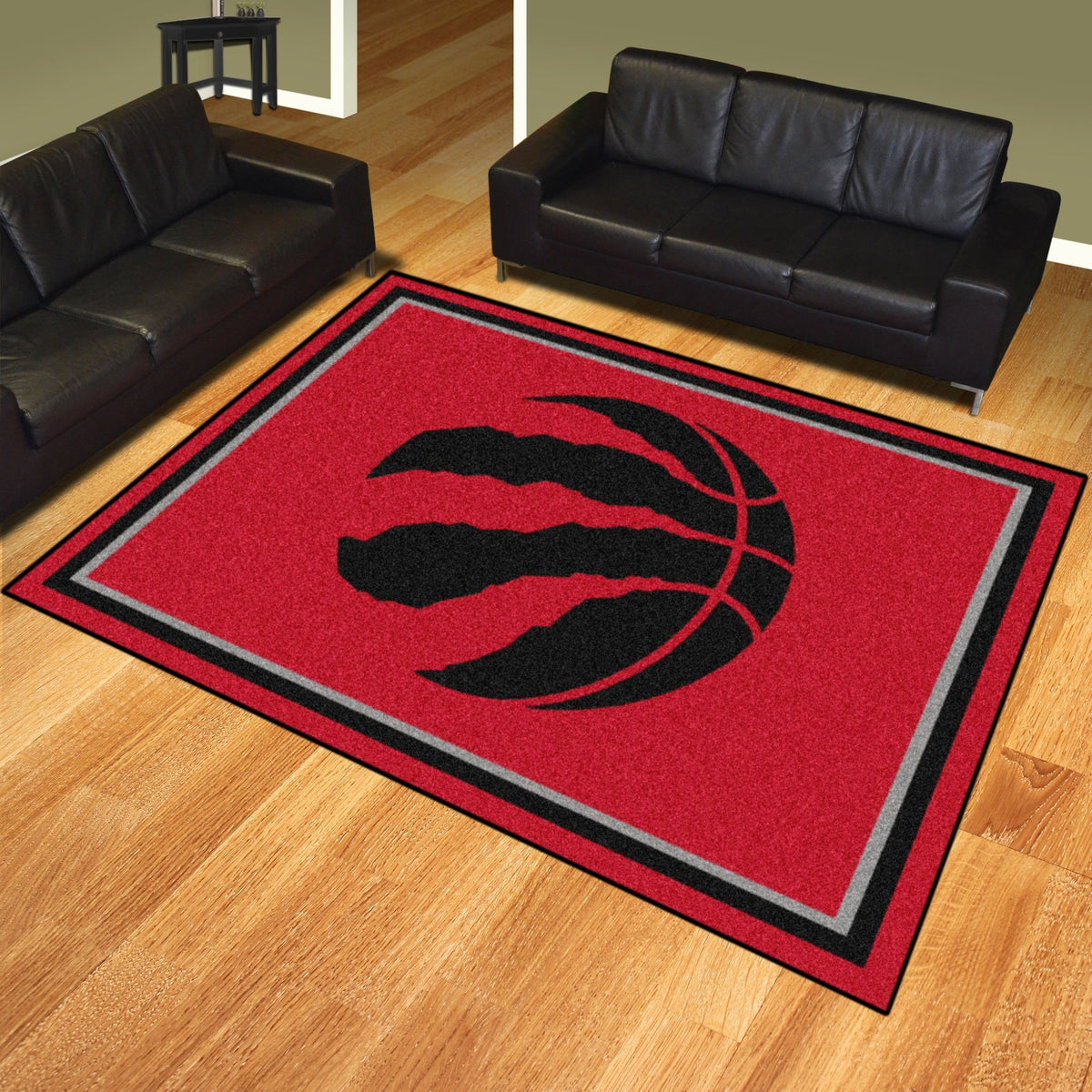 NBA - 8' x 10' Rug NBA Mats, Plush Rugs, 8x10 Rug, NBA, Home Fan Mats Toronto Raptors