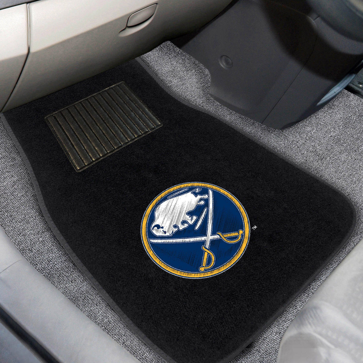NHL - Embroidered Car Mat, 2-Piece Set