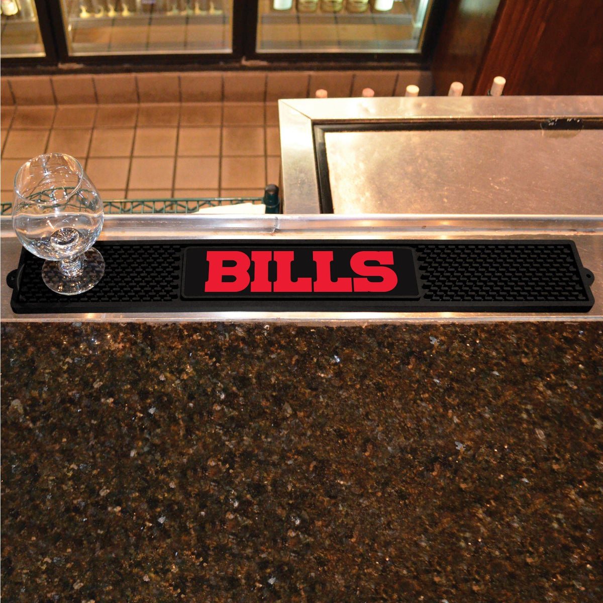 NFL - Drink Mat NFL Mats, Tailgate Accessory, Drink Mat, NFL, Leisure Fan Mats Buffalo Bills