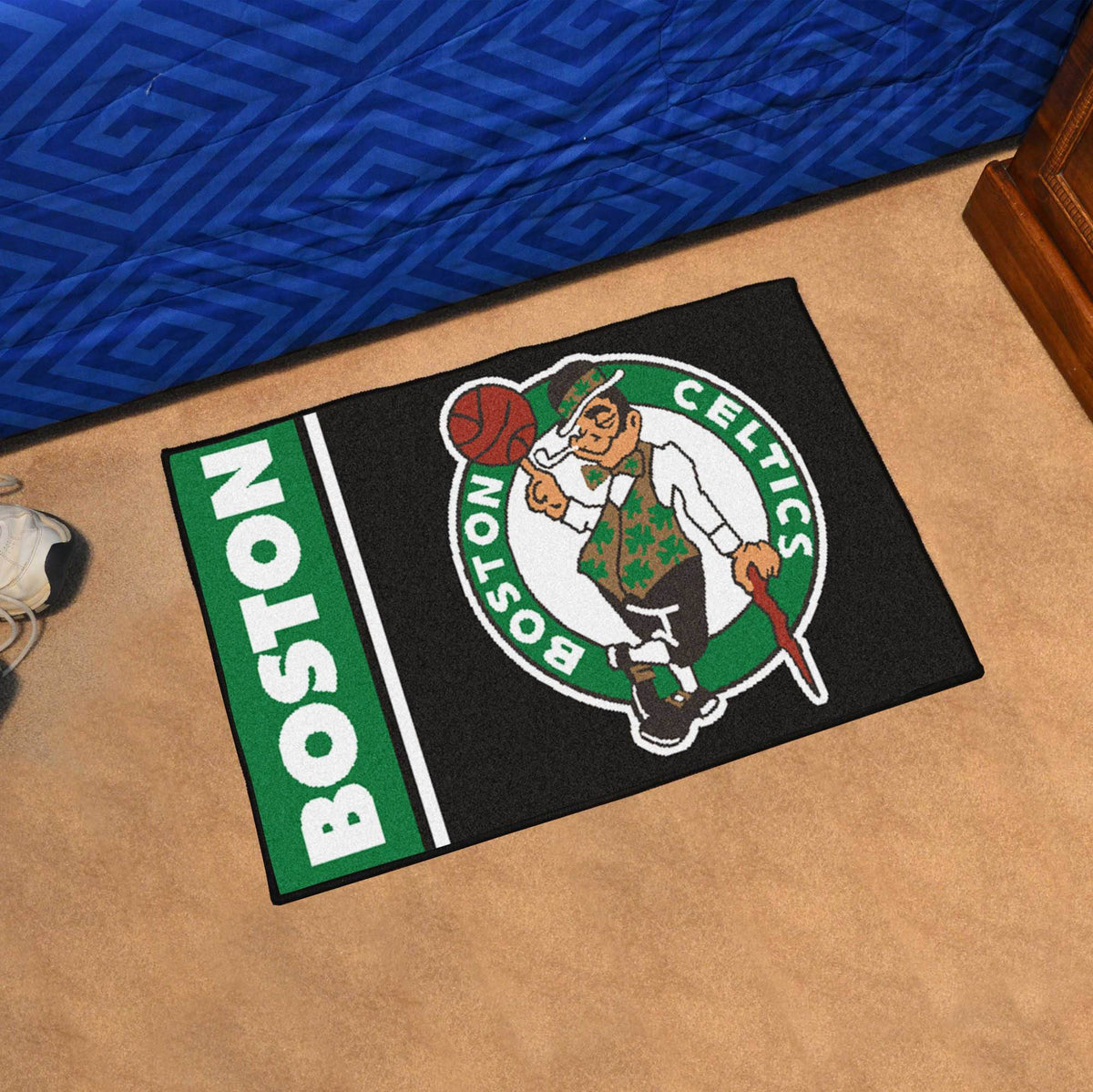 NBA - Uniform Starter Mat NBA Mats, Rectangular Mats, Uniform Starter Mat, NBA, Home Fan Mats Boston Celtics