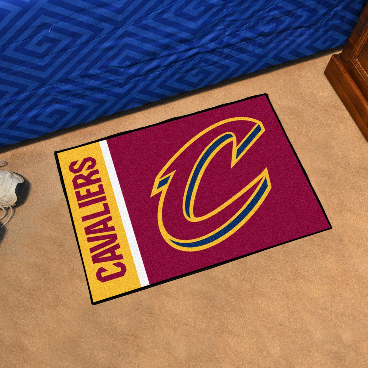NBA - Uniform Starter Mat NBA Mats, Rectangular Mats, Uniform Starter Mat, NBA, Home Fan Mats Cleveland Cavaliers