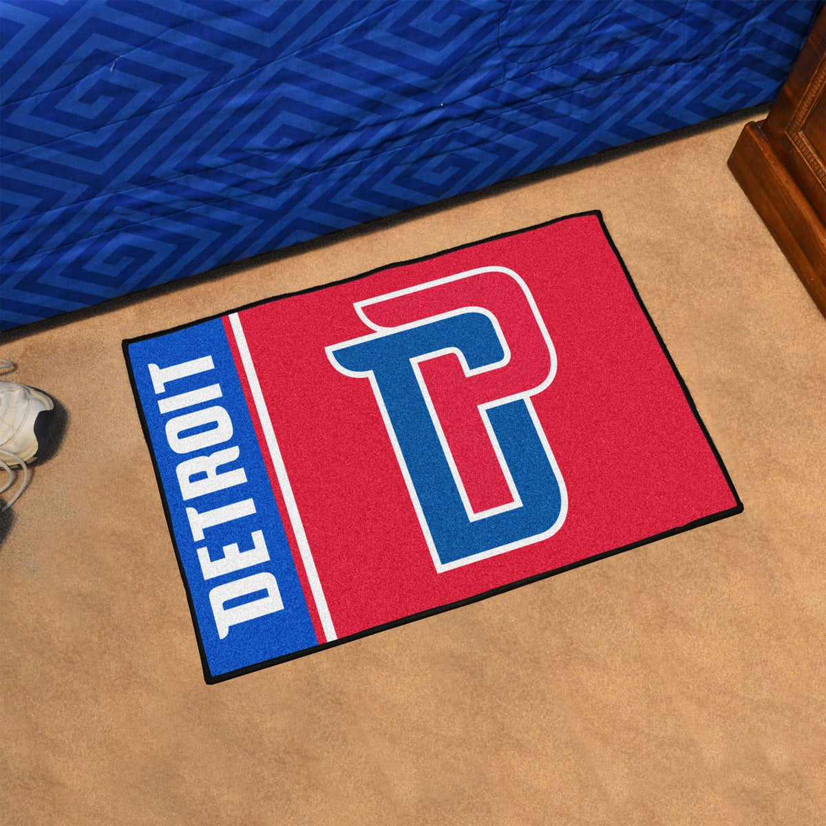 NBA - Uniform Starter Mat NBA Mats, Rectangular Mats, Uniform Starter Mat, NBA, Home Fan Mats Detroit Pistons
