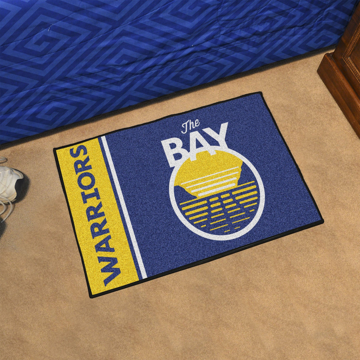 NBA - Uniform Starter Mat NBA Mats, Rectangular Mats, Uniform Starter Mat, NBA, Home Fan Mats Golden State Warriors