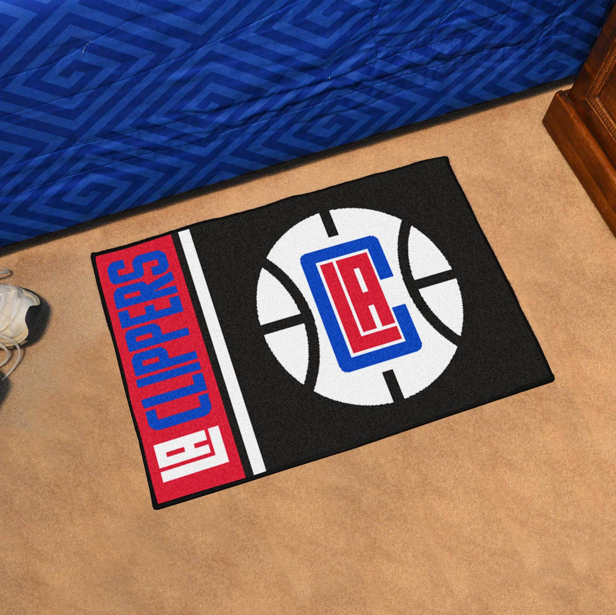 NBA - Uniform Starter Mat NBA Mats, Rectangular Mats, Uniform Starter Mat, NBA, Home Fan Mats Los Angeles Clippers